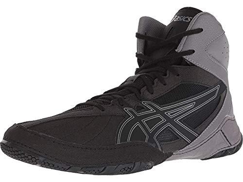 ASICS Matcontrol Men's Wrestling Shoe, Black/Black, 10 M US