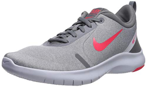 Nike Women's Flex Experience Run 8 Shoe, Cool Red Orbit-Football Grey, 8.5 Regular US