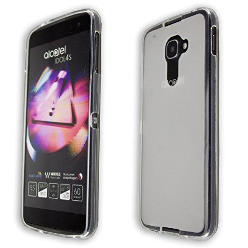 caseroxx TPU-Hülle für BlackBerry DTEK60, Handy Hülle Tasche (TPU-Hülle in transparent)