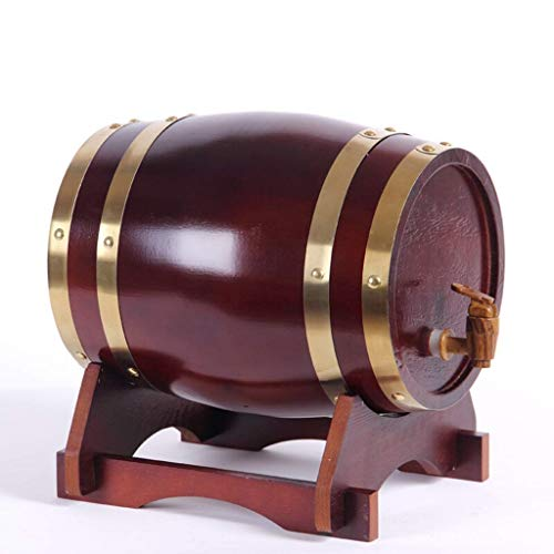 YANGUANG Barril de Vino Barril De Vino, Barricas De Roble De Cubas, Barriles De Vino Tinto Seco 3L5L10L20L (Color : C, Size : 10L)