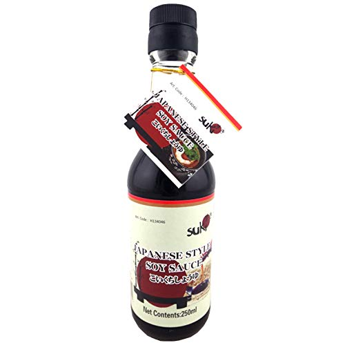 Suki Japanese Style Soy Sauce (Sojasauce), 250 ml