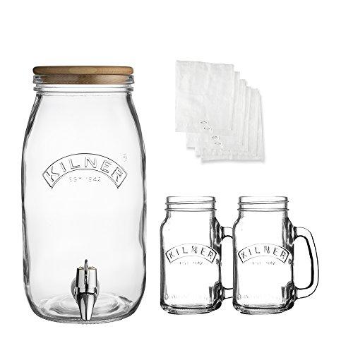 Kilner, Glas, Durchsichtig, 21.9 x 14.2 x 28.1 cm