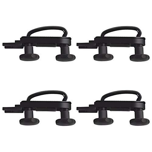 4 Teile/Satz Universal Dachbox Auto Van Montage Fitting Kit U-Schrauben Schellen 85mm Innenbreite mit 8 Heavy Duty Kontermuttern