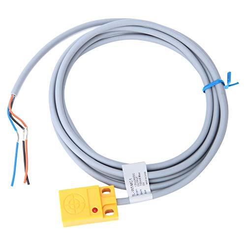 Sensor de proximidad inductivo NPN NO, sensor de proximidad inductivo NPN NO para DC 12-24V