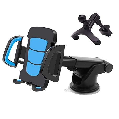 YANGSANJIN Telefoonhouder voor in de auto, universeel, autohouder, ventilatie telefoonhouder voor iPhone X/Xs/Xr/8/7/6, Samsung Galaxy S6/S5/Note 4/3 en elke andere smartphone