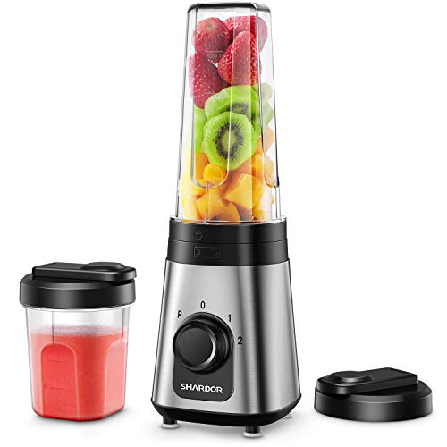 SHARDOR Personal Blender for Shakes and Smoothies Juice Blender with 3...