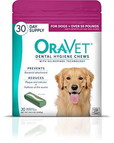 OraVet Dental Hygiene Chews for Pugs