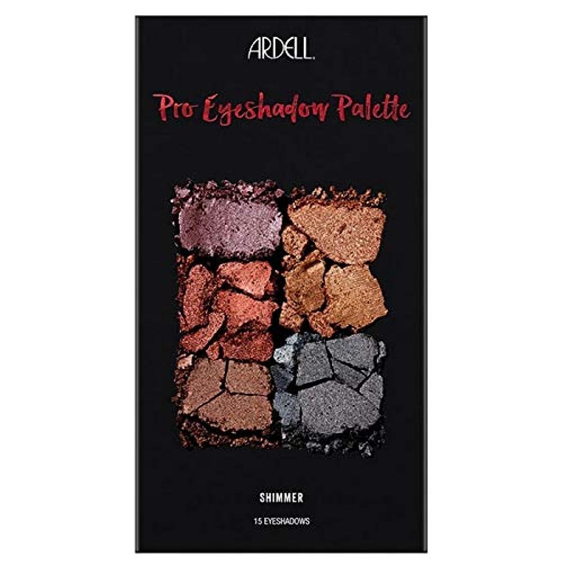 早熟首謀者更新する[Ardell] Ardell美のプロアイシャドウパレットきらめき - Ardell Beauty Pro Eyeshadow Palette Shimmer [並行輸入品]