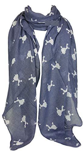 GFM sjaal met dierenprint – baard. - - Large