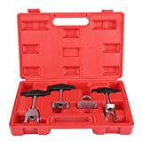 KIMISS 4pcs Ignition Coil Pullers, for, Spark Plug Ignition Coil Removal and Installation Puller Tools Kit w/Storage Case