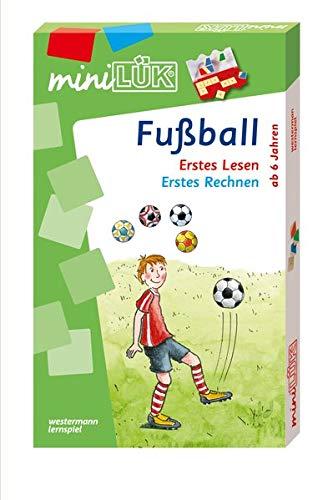 miniLÜK-Sets / Kasten + Übungsheft/e: miniLÜK-Set: Fußball: Erstes Lesen / Erstes Rechnen