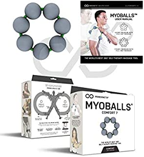 Foam Trigger Point Massage Balls by MyoBalls | Tennis and Golf Elbow, Forearm Release, Trigger Point Therapy, Knee Relief - Comfort 7
