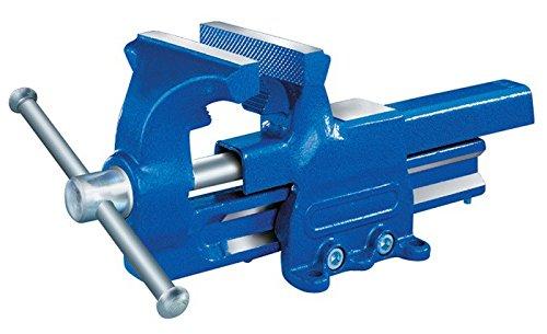 PROMAT 830232 Schraubstock B.140mm Spann-W.200mm m.Rohrspannbacken PROMAT angeschweißt