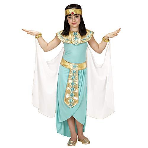 WIDMANN 49436?Disfraz para niños egipcio Reina, vestido, cinturón, pulseras, cinta y capa , color/modelo surtido