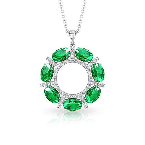 Unique Diamond IGI Certified Infinity Pendant Minimalist Drop Stacking Pendant Valentine Gift for Her IJ-SI Color Clarity Diamond Charm Necklace