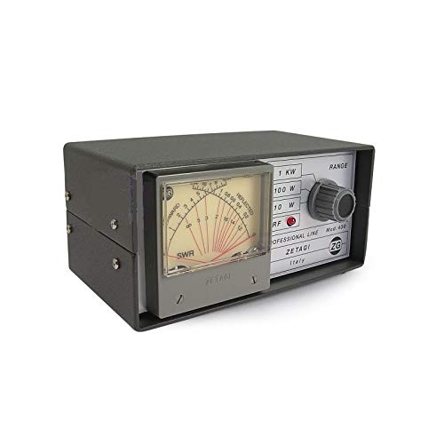 Zetagi 430 SWR/Power Meter 120 – 500 MHz