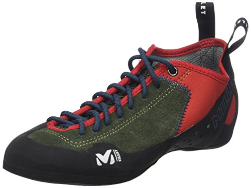 Millet Unisex-Erwachsene Rock Up Kletterschuhe, Mehrfarbig (Grape Leaf/Orange 000), 40 2/3 EU