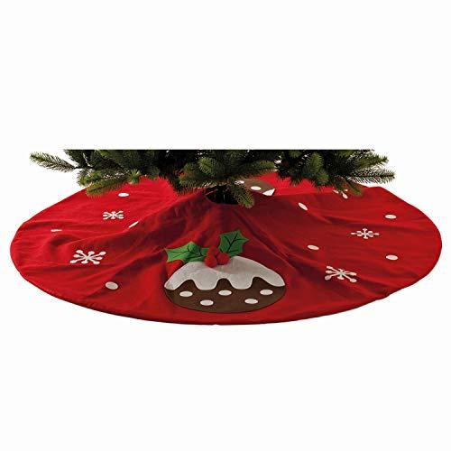 Base de árbol de Navidad Pudding. 140cm de diámetro