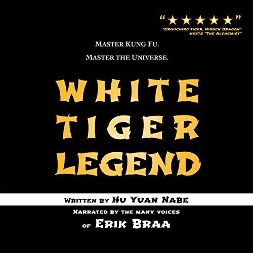White Tiger Legend audiobook cover art