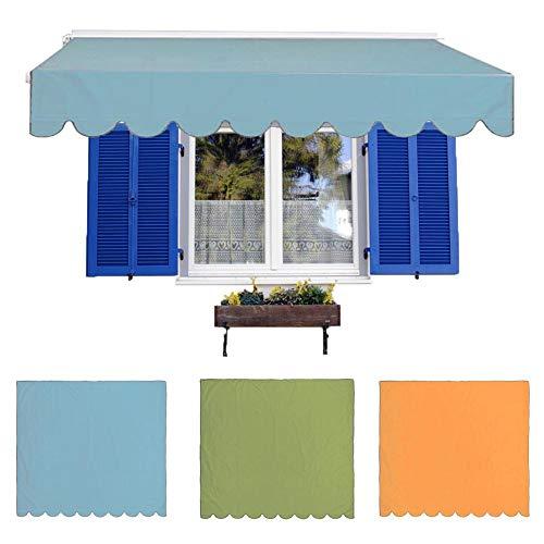 ruist-eu Sombrilla Impermeable Toldo de Vela Toldo de Patio Toldo Exterior Sombrilla UV Bloque de Cortina para jardín al Aire Libre Patio Patio Fiesta