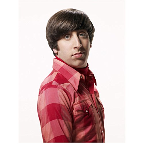 The Big Bang Theory Simon Helberg as Howard Wolowitz Side Shot in Red Plaid 8 x 10 Inch Photo