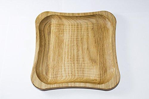 Eiken houten platen schotels Platter verschillende Stiles Platter Boter schotel diner plaat decoratieve plaat SANDWICHES