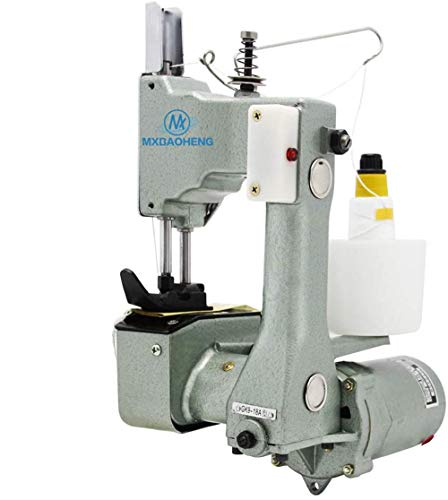 MXBAOHENG GK9-18 Maquina Coser Portatil Maquina de Coser Sacos Maquina de Coser Lonas 800 rpm/min para Coser Bolsa Tejida / Arroz / Papel / Plástico