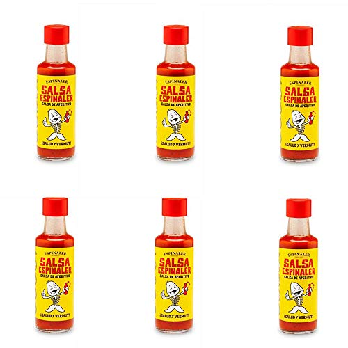 Salsa Espinaler - Pack 6 Botellines 6x92 ml.