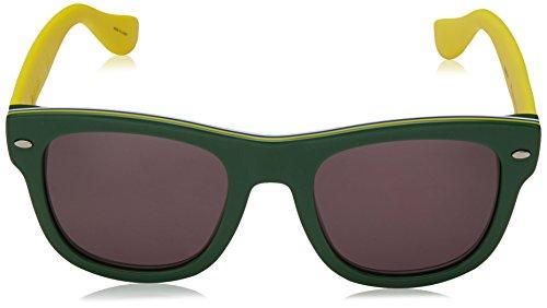 Havaianas Herren Sonnenbrille Brasil/M Y1 1RI, Green Yellow/Gy Grey, 50