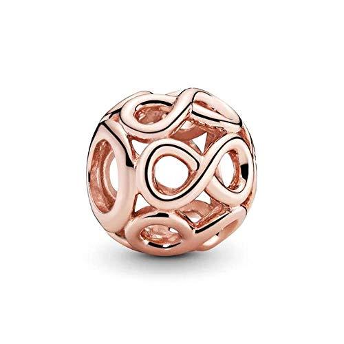 Pandora Rose Offen gearbeitetes Unendlichkeits-Charm 14 Karat rosévergoldete Metalllegierung 781872