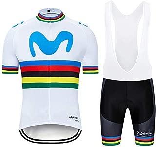 TOPBIKEB Conjunto Ciclismo Verano Traje Bicicleta Hombre Camiseta +Culotes 3D Gel Equipos