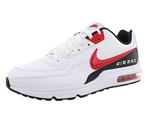 Nike Air Max Ltd 3, Scarpe da Corsa Uomo, Multicolore (White/University Red/Black 100), 41 EU