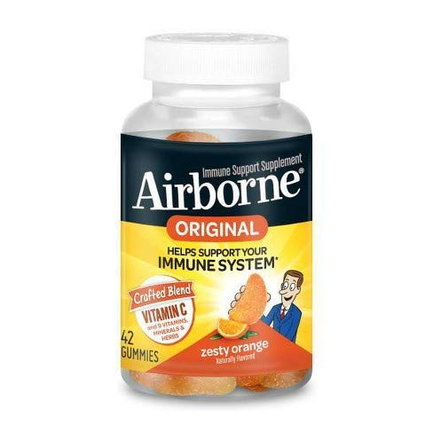 Airborne Zesty Orange 42 Count Canister