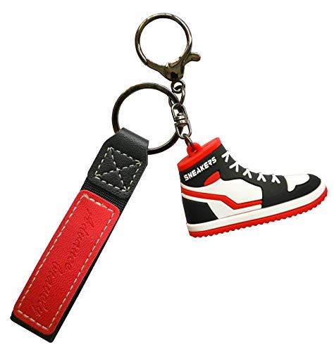 Exporee Portachiavi Sneaker, Regalo Divertente Pendente per Scarpe Ornamenti per Borse Portachiavi