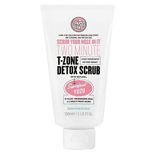 Soap And Glory Scrub Your Nose In It Facial Scrub Pore Refining Formula 100ml