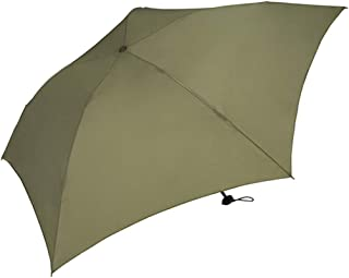 Household Umbrellas Ultralight Mini Folding Umbrellas for Men and Women Green, Red, Yellow HYBKY (Color : Green)