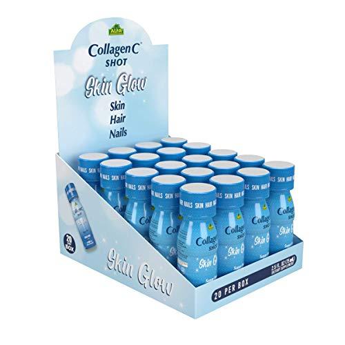 CollagenC - skin glow shot 20 pack - Collagen 10 g, Vitamin c 1000 mg,...