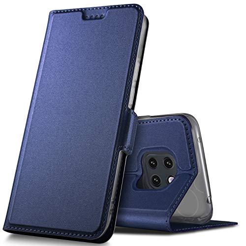 GeeMai Huawei Mate 20 Pro Hülle, Premium Huawei Mate 20 Pro Leder Hülle Flip Hülle Tasche Cover Hüllen mit Magnetverschluss Standfunktion Schutzhülle handyhüllen für Huawei Mate20 Pro Dual-SIM Phone
