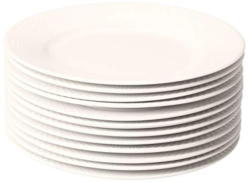 10 Strawberry Street Catering Salad Plate, Cream White