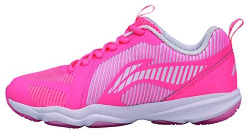 Li Ning AYTN062-4 Ranger TD Badmintonshoe/Casual Shoe Women pink Gr.37 2/3 -US 7