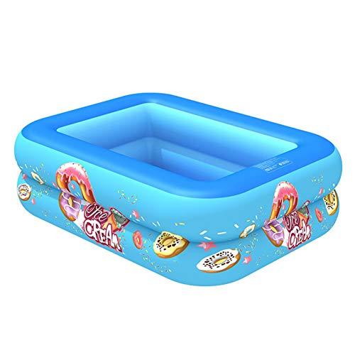 Rubeyul Piscina Hinchable Piscina Niños, 103 x 75 x 30cm, Piscina Hinchable para Niños, Adultos, Piscina Duradera para Patio, Jardín, Fiesta al Aire Libre