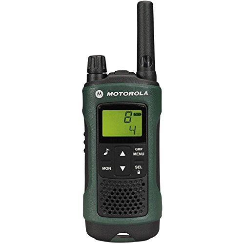 Motorola TLKR T81 HUNTER PMR Funkgerät (LCD-Display, Reichweite bis zu 10km, 968 Kanäle, PMR446 Radio) grün