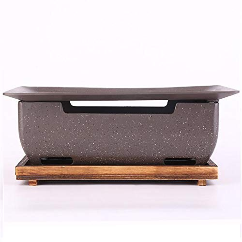 Barbecue Stove,Charcoal Fire Alcohol Charcoal Barbecue Barbecue Charcoal Stove Desktop Shichirin High-Class Steel Grill