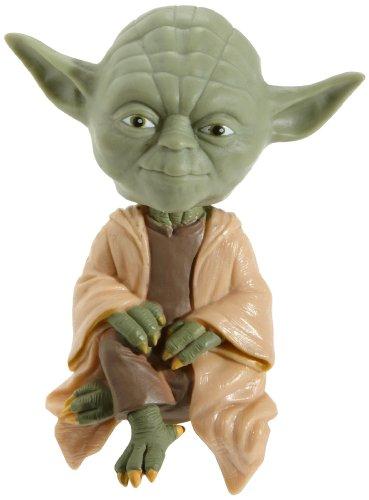Joy Toy 9890 - Star Wars Yoda Wackelkopf-Figur sitzend 12 x 22 x 4 cm