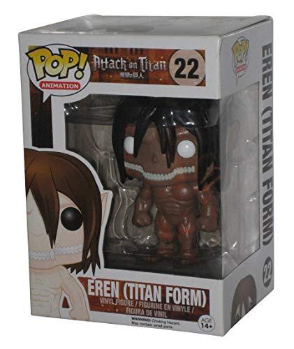 Funko 599386031 - Figura Ataque a los Titanes - titán ed. Limitada