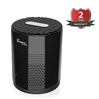 ANSIO Air Purifier home with True HEPA Activated Carbon Filter, CADR 68 m³/h, hepa air purifier for Bedroom, Air Cleaner for Dust,Pollen,Pets,Dander,Cooking,Allergy,Odours - 2 Years Warranty
