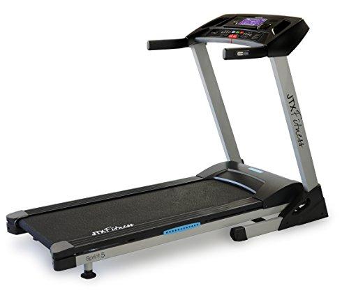 JTX Sprint-5 Motorised Treadmill: 18kph, Foldable,...
