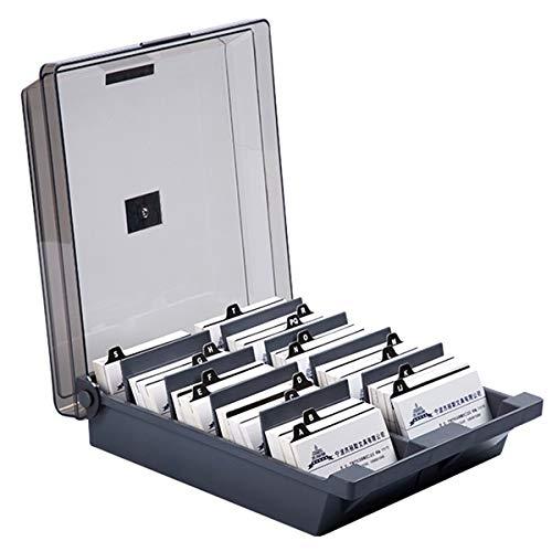 HechoVinen Soporte para tarjetas de visita, tarjeta de saludo, organizador de almacenamiento, para escritorio, tarjeta de identificación, para oficina, escritorio o casa