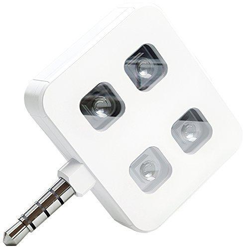 Concepter iBlazr LED Blitz für Apple iPhone/Smartphone weiß