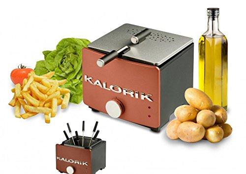 Team-Kalorik-Group TKG FT 22 FO AZ - Mini freidora y fondue